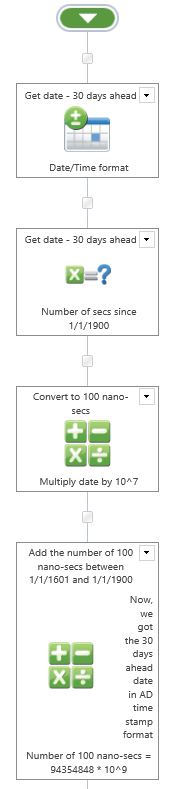 Convert date/time format to Active Directory times    - Nintex Community