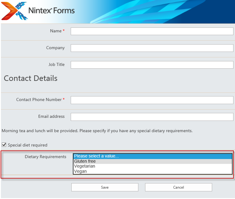 Solved: Show or hide controls with Rules in Nintex Forms - Nintex