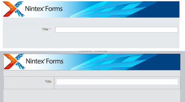 Solved: [NINTEX FORM] How to hide the control borders