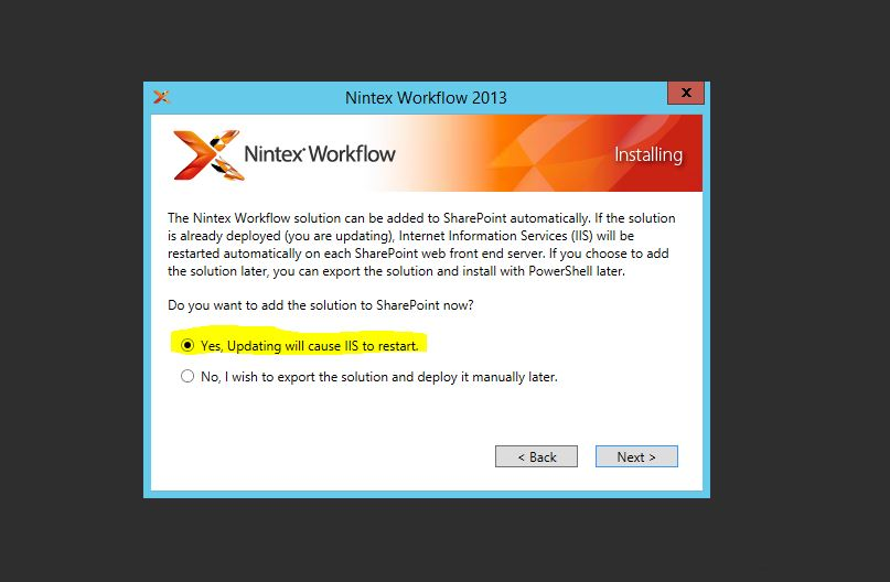 Nintex Workflow Start Service fails to start on SP