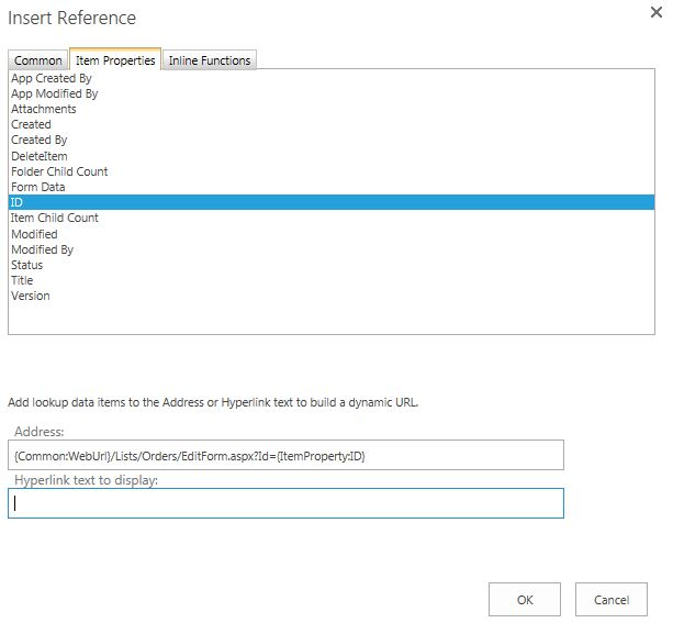 Solved: how to get the edit form link of a sharepoint cust