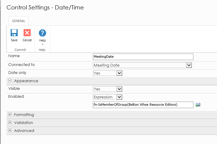 Solved: Setting current date and time on control - Nintex