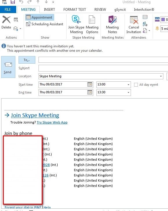 Add Skype for Business Details to Send Email - Nintex Community