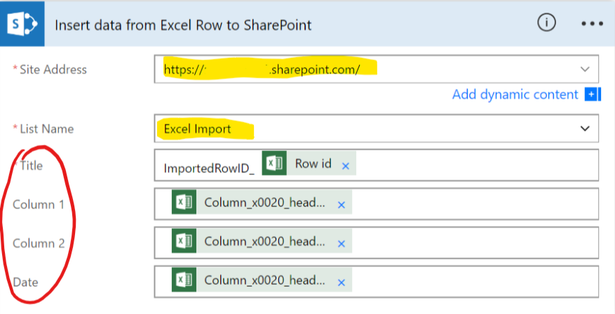 How to: Import data from XLSX file into SharePoint