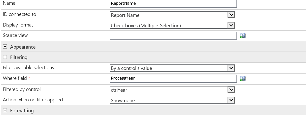Nintex Forms Unable to use filter and jquery chang