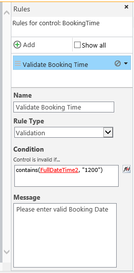 Nintex Forms 2013 - Date Validation 1