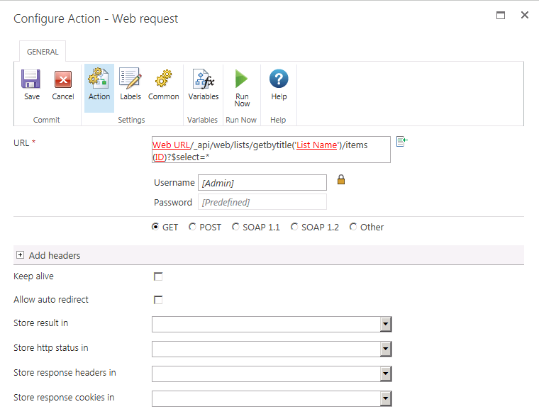 How to execute a SP2013 REST API request with Nint    - Nintex Community