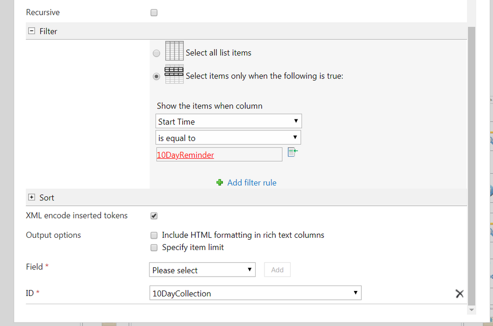 Due Date Reminder Workflow Query List Action.PNG