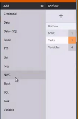 NWC variable option